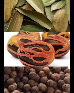 Spice Pack- (Cinnamon Leaf (Dried), Pimento Seed and Nutmeg