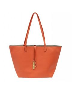 2pc Reversible Tote - Orange