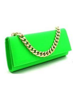 Highlighter Clutch Purse - Green