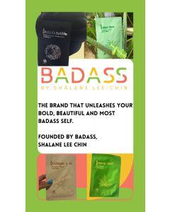Badass by Shalane Lee Chin 6 in 1 Natural Facial Mask Kit