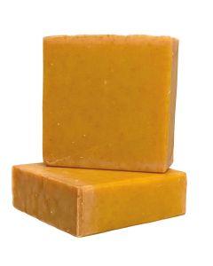Organic Turmeric Soap - 100% Natural and Organic-4 oz Bar ( 1 Pack)