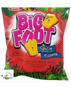 Holiday Big Foot Spicy Cheese Snacks