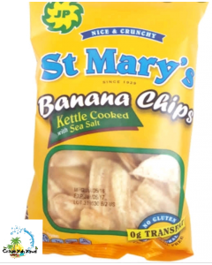 JP ST. MARY Banana Chips - Kettle Cooked