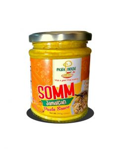 SOMM Jamaican Pasta Sauce, Creamy Curry 10oz