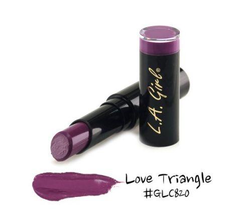 LA Girl Matte Flat Velvet Lipstick (GLC820-Love Triangle)  from LA GIRLS