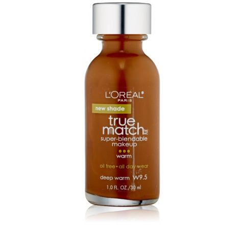 L'Oreal Paris True Match Super Blendable Makeup, Deep Warm W9.5, 1.0 Ounces