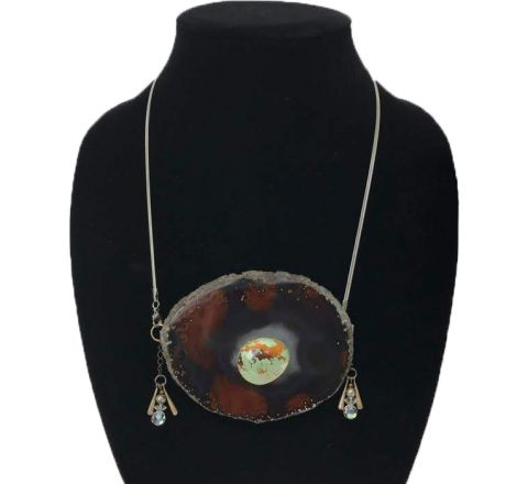 Exotichild Agate Necklace NAS2