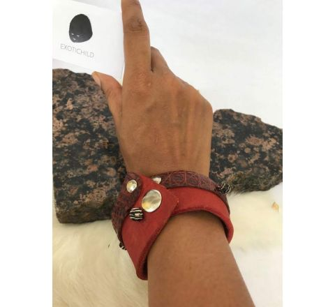 Exotichild Leather Bracelet BRL02