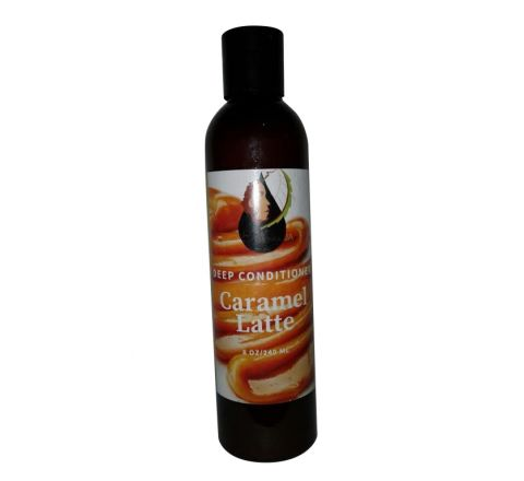 Earth Essence Ja. Caramel Latte Deep Conditioner - Liquid Gold 8 oz