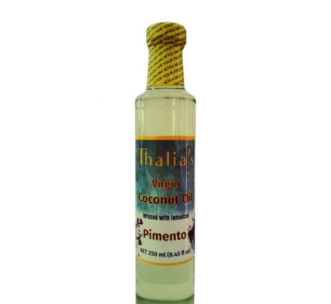 Set of 4, Thalia's Pimento Infused Virgin Coconut Oil