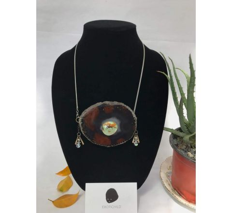 Exotichild Agate Necklace