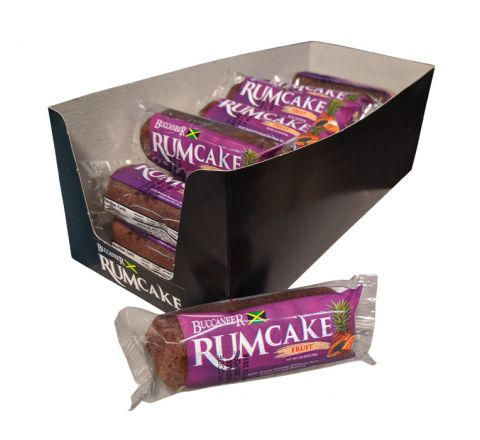 Buccaneer Pocket Size Rum Cake (18 Pack)-Fruit
