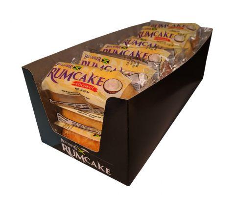 Buccaneer Pocket Size Rum Cake (18 Pack)-Coconut Rum
