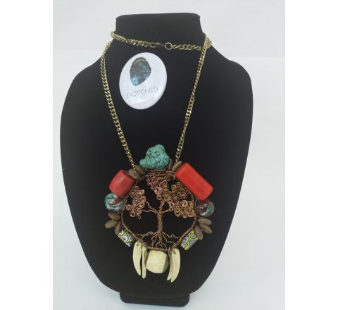 Exotichild Tree of Life Necklace
