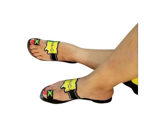 Shoan's Collections Jamaican Pride Women Sandals