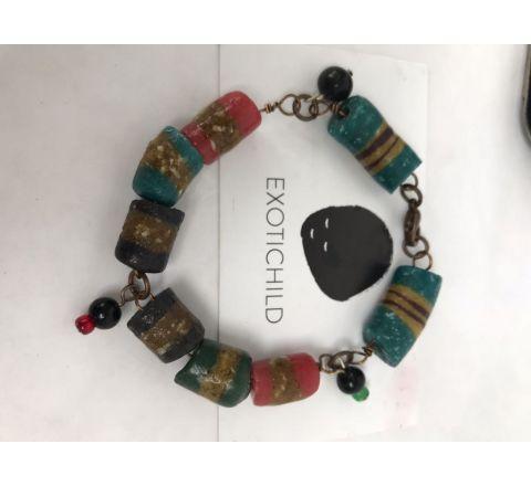 Exotichild Colors of Pride Bracelet Small, BLK1