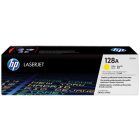 HP 128A (CE322A) Yellow Original LaserJet Toner Cartridge