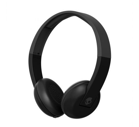 Skullcandy Uproar Bluetooth Wireless On-Ear Headphones with Built-In Mic and Remote, Black