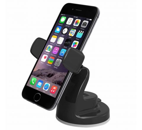 iOttie Easy View 2 Car Mount Holder for iPhone 6s Plus/6s/6, Galaxy S7/S7 Edge, S6/S6 Edge, Galaxy Note 5 -Retail Packaging -Black