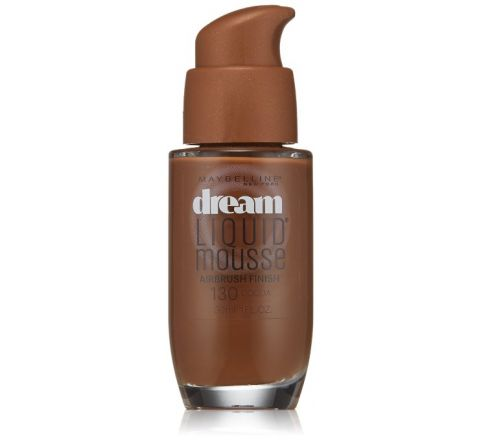 Maybelline New York Dream Liquid Mousse Foundation, Cocoa Dark 3, 1 Fluid Ounce
