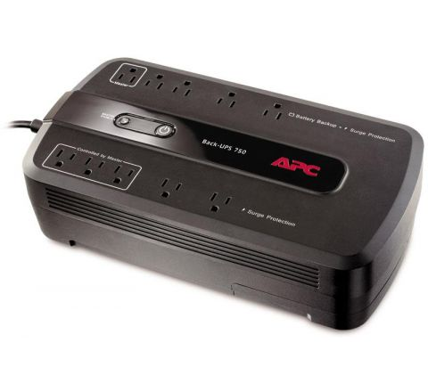 APC Back-UPS - 750VA 10-Outlet UPS (BE750G)