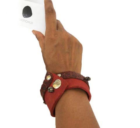 Exotichild Leather Bracelet BRL02