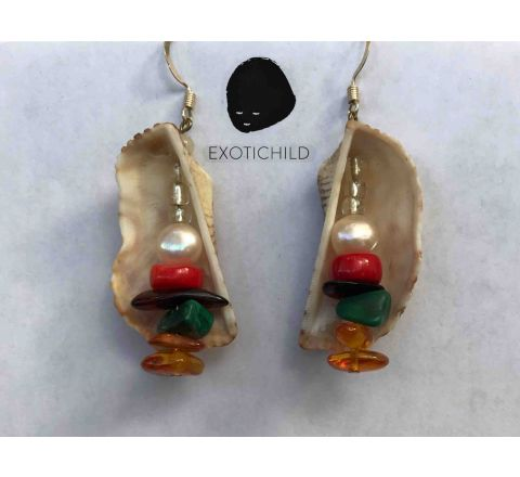 In-Shell-ter Earring Collection by EXOTICHILD-ES11
