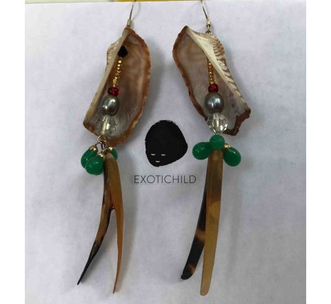 In-Shell-ter Earring Collection by EXOTICHILD-ES14