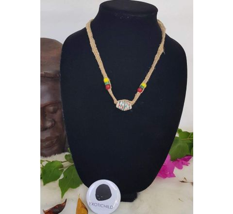 EXOTICHILD Adjustable Hemp Necklace NEC51