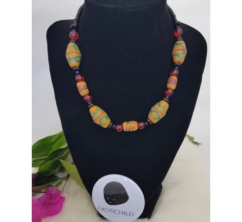 Exotichild King bead Necklace NEC31