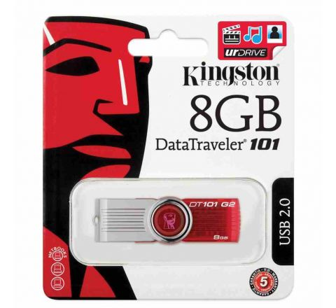 Kingston DataTraveler 101 G2 USB 2.0 Flash Drive-8GB