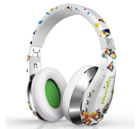 Roll over image to zoom in Bluedio A (Air) Stylish Wireless Bluetooth Headphones with Mic