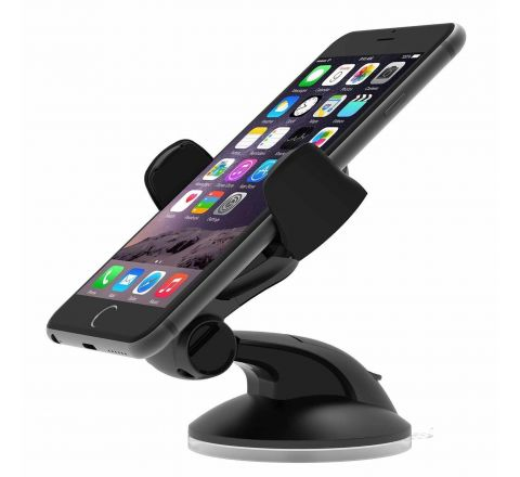 iOttie Easy Flex 3 Car Mount Holder for iPhone 6s/6, Galaxy S7/S7 Edge, S6/S6 Edge - Retail Packaging - Black