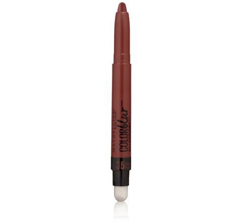 35 Plum Please, Maybelline New York Lip Studio Color Blur Cream Matte Pencil + Smudger 0.04 Ounce